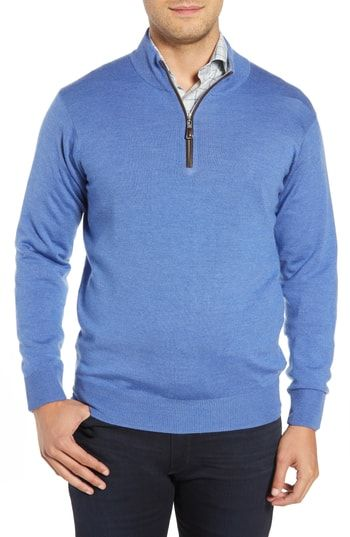 9695eba84 PETER MILLAR CROWN SOFT WOOL BLEND QUARTER ZIP SWEATER.  petermillar ...
