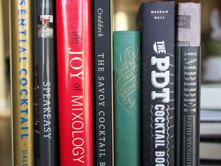 Wondering which books you need in your cocktail library? Here are ten essentials—all historic and modern classics.