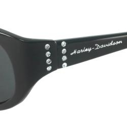 @Overstock - These Harley Davidson Sunglasses are an oval plastic frame with delicate crystals on the temples. The Harley Davidson logo is engraved on the temples.http://www.overstock.com/Clothing-Shoes/Harley-Davidson-HDS-446-Womens-Oval-Sunglasses/6421766/product.html?CID=214117 $25.49