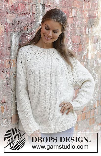 9db905d907f29 Ravelry  194-5 White Willow pattern by DROPS design