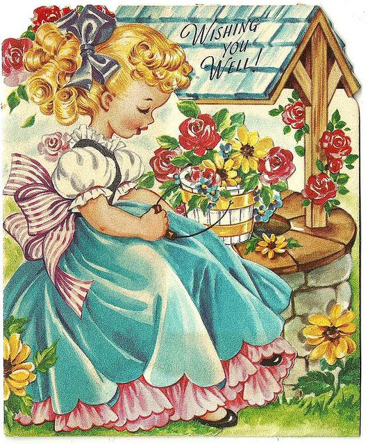 vintage get well cards | Vintage Get Well Greeting Card 72 | Flickr - Photo Sharing!