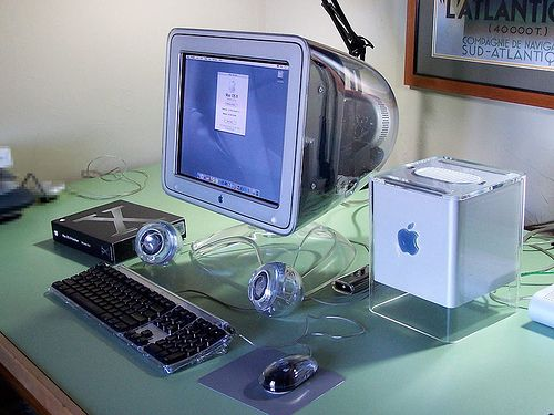 Apple Macintosh G4 Cube. I have one...
