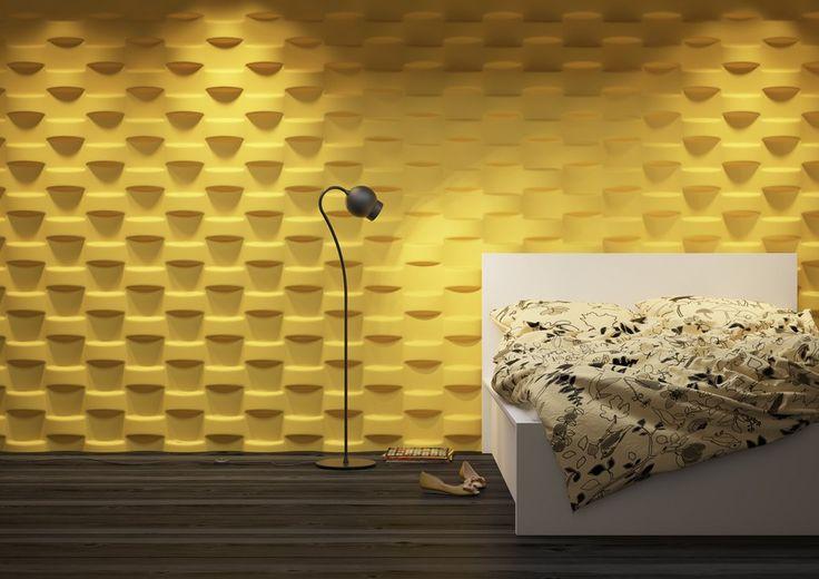 Dunes - Wicker - Panel dekoracyjny ścienny 3D