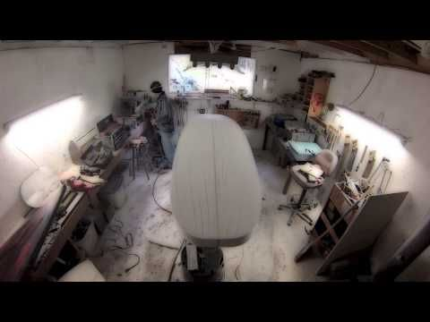 Scrap XPS Insulation Fishing SUP Part 1 - YouTube