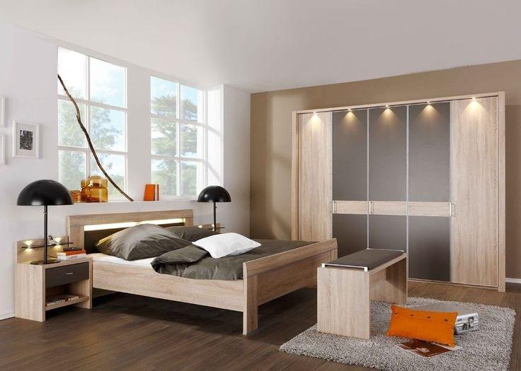 Good Schlafzimmer komplett Eiche S gerau Havanna Buy now at http
