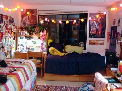 Nice Lights In Dorm Room Dorm Life Room Decor Part 16