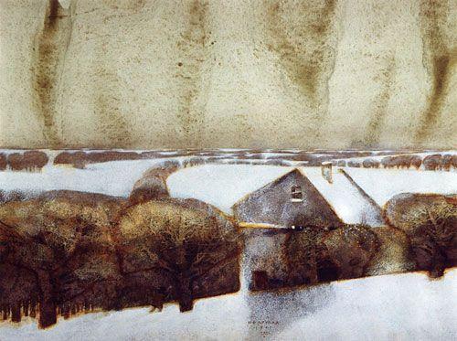 Pavel Tatarnikov - Stroll, 1998, mixed technique, paper.