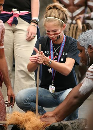 Every culture has value. I am looking forward to learning how to throw a boomerang with the Aborigines.