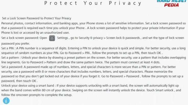 Set Lock Screen Password HUAWEI Mate 10 Pro https://youtu.be/8-N8134bZBo