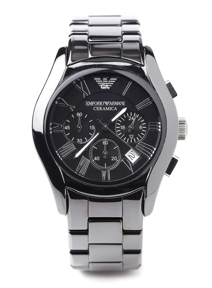 Super expensive Armani watch, but it looks really sleek! :)