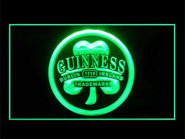 J312G Guinness Beer Dublin Ireland For Pub Bar Display Decor Light Sign