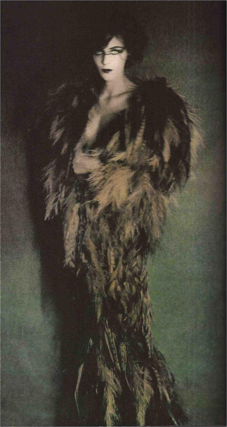 Vogue Paris December 1990. Gown by Yves Saint Laurent.   Photograph by Paolo Roversi. http://devorahmacdonald.blogspot.co.uk/2012/08/blog-post.html