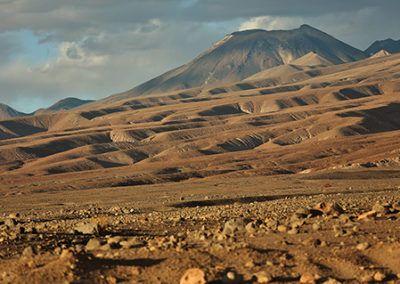 paysage chilien - le Lascar