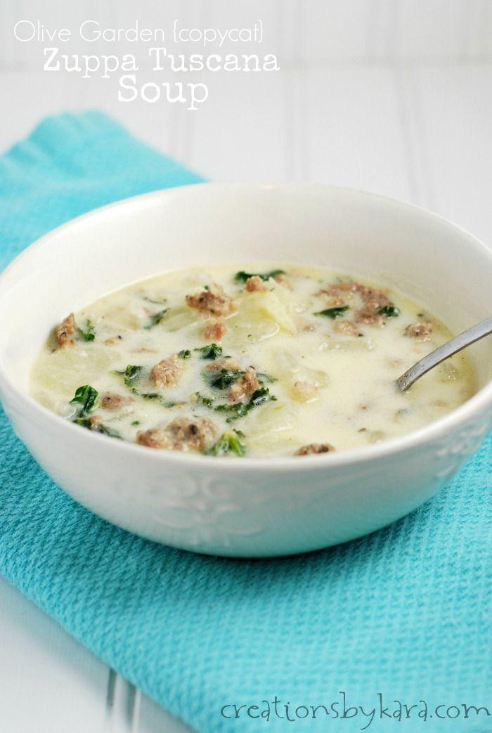 1000 Ideas About Olive Garden Zuppa Toscana On Pinterest Zuppa Toscana Soup Toscana Soup And