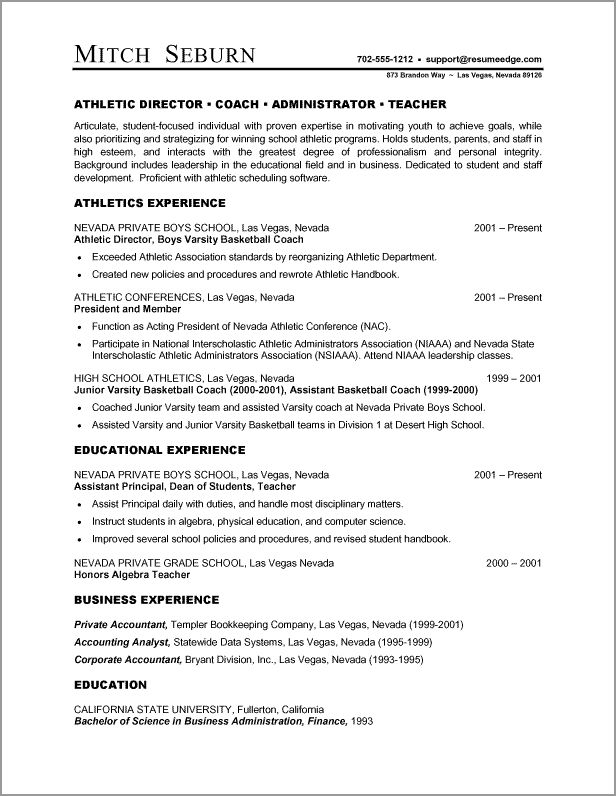 Более 25 лучших идей на тему «Resume outline» на Pinterest - athletic resume template