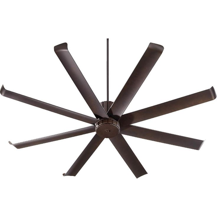 "72"" Angled Spoke Indoor/Outdoor Ceiling Fan"