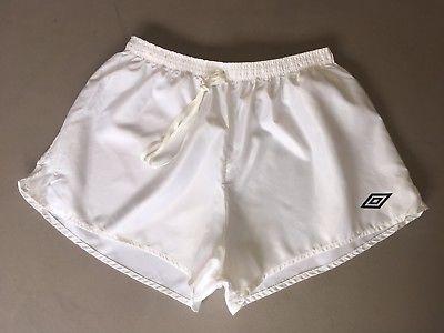 e350ddcfb4 Vintage Umbro Classic Shiny Nylon Football Shorts   Shorts 80' in ...