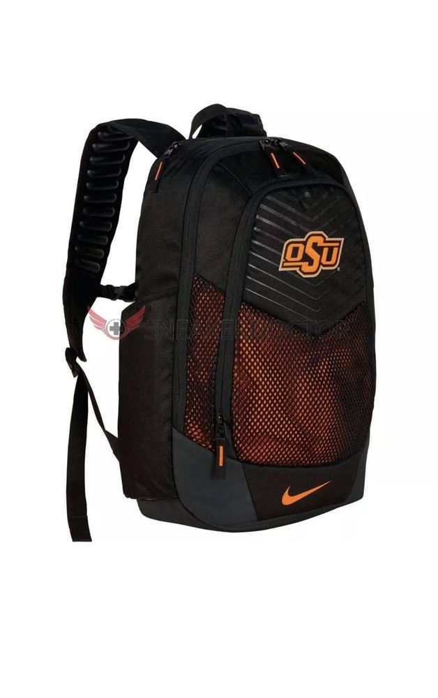 Nike Vapor Max Power Backpack Oklahoma State University OSU BA5285 081 Black #Nike #Backpack