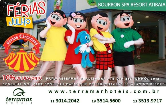 Brincadeiras, malabares e diversão do circo à vontade nas férias circenses do Bourbon Atibaia!