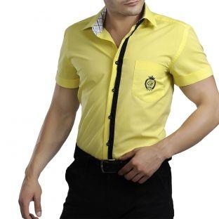 Wow! Acum poti avea soarele in garderoba ta! Alege o camasa semnata Catalin Botezatu in cea mai intensa culoare a verii: galben!