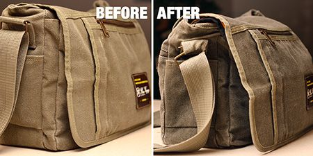 how to make waxed canvas