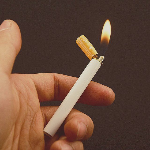Cigarette Shaped Lighter #Cigar, #Lighter, #Realistic
