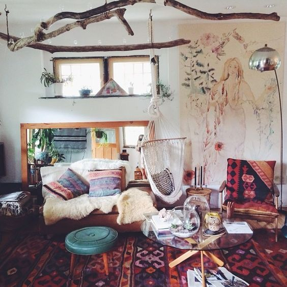 Best 25 bohemian room decor ideas on pinterest bohemian Boho chic living room