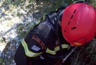 Επιχείρηση της πυροσβεστικής  έχει στηθεί από... τις 12 το μεσημέρι για τη μεταφορά μίας τουρίστριας από το Λουξεμβούργο , η οποία τραυμα...