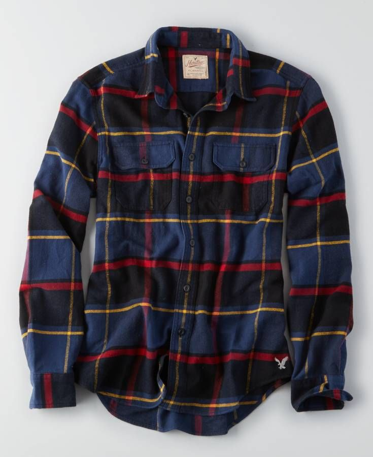 AEO Flagstaff Flannel, Men's, Multicolored http://www.99wtf.net/men/6-things-which-make-women-attracted-to-men/