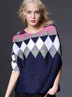 Loose Oversize Hit Color Top