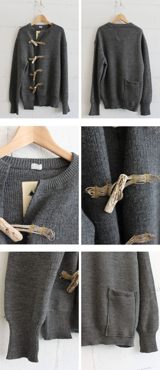 DIY: Wool Sweaters, Diy Pull, Toggl Buttons, Diy Sweaters, Diy Clothing, Refashion Sweaters, Cardigans Sweaters, Diy Refashion, Closure Ideas