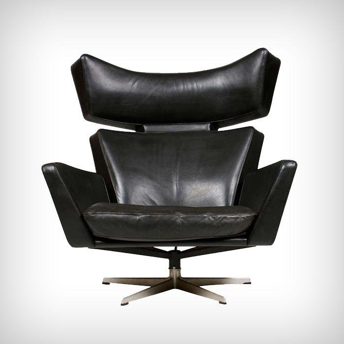 Fauteuil OX, Arne Jacobsen (circa 1960)