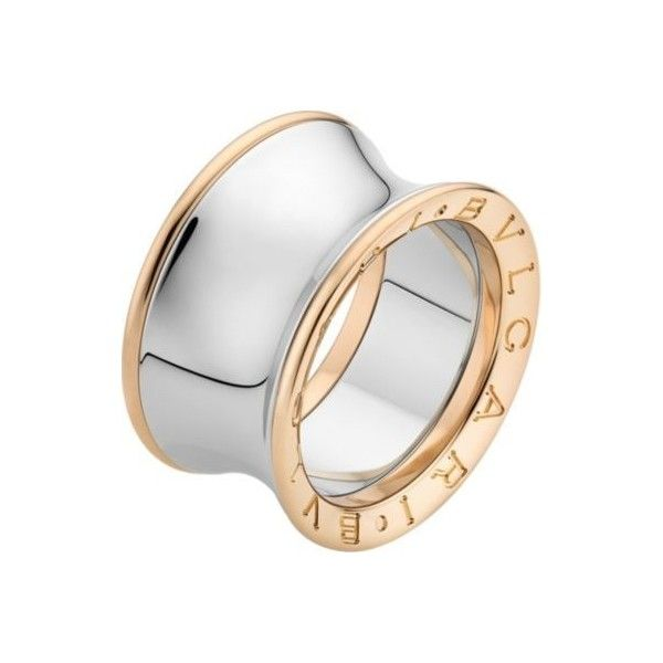 u20ac1100 liked on polyvore featuring jewelry rings engraved rings 18k rose gold ring preowned rings bulgari ring and pre owned jewelry