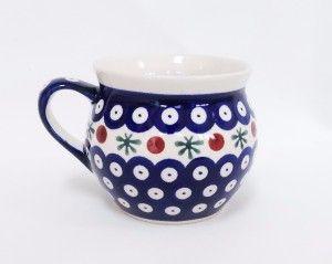 Barrel Mug 0.35l #PotteryCorner #Boleslawiec #Polishpottery #plates #serving