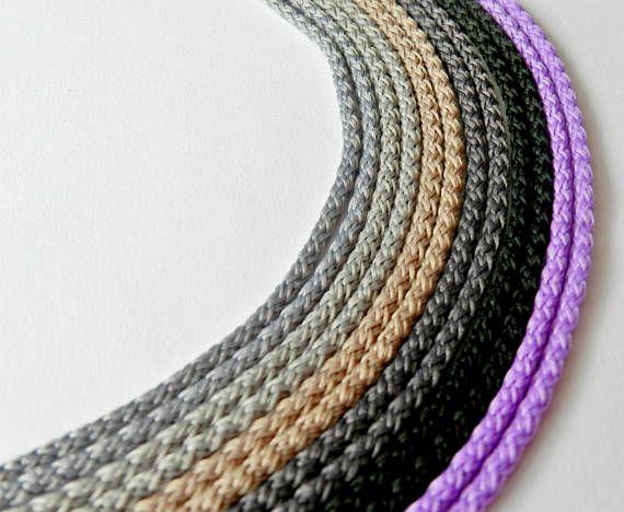 Macrame cord 3mm crochet supplies crochet cord crochet