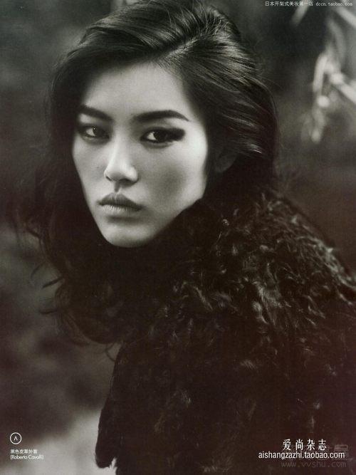 Liu Wen - lovely eye make up