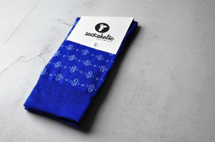 #FleurDeLis #socks #feelthecolor #cool #socks #sockaholic #fun