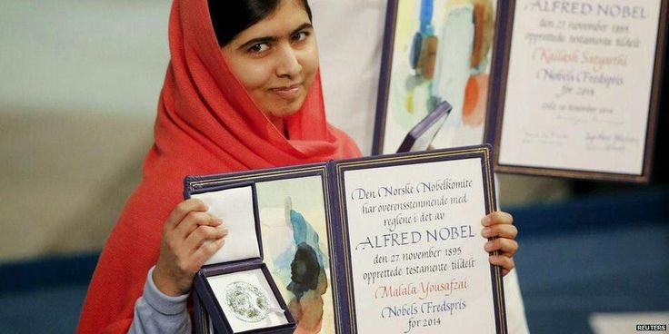 Who says one person can't change the world? Malala