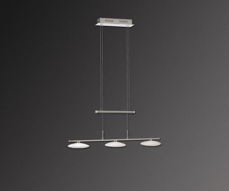 Epic LED Pendelleuchte MARON h henverstellbar Stahl Jetzt bestellen unter https moebel ladendirekt de lampen deckenleuchten pendelleuchten uid udc