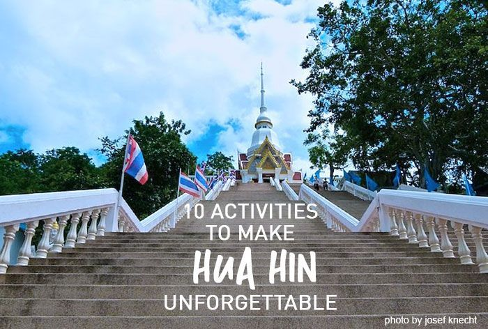 Hua Hin is quite a popular holiday destination. This coastal town is the best place to unwind and forget all your worries for a while.
