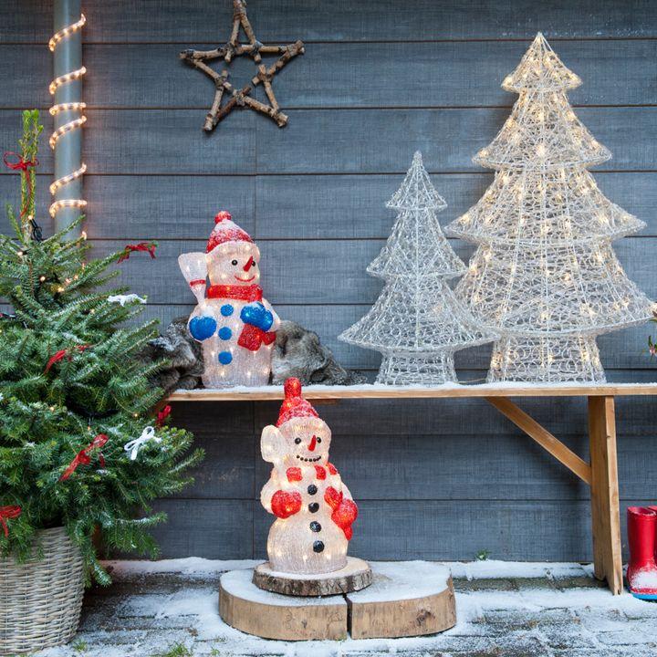 Breng het gezellige kerstgevoel naar buiten #kerstverlichting #intratuin