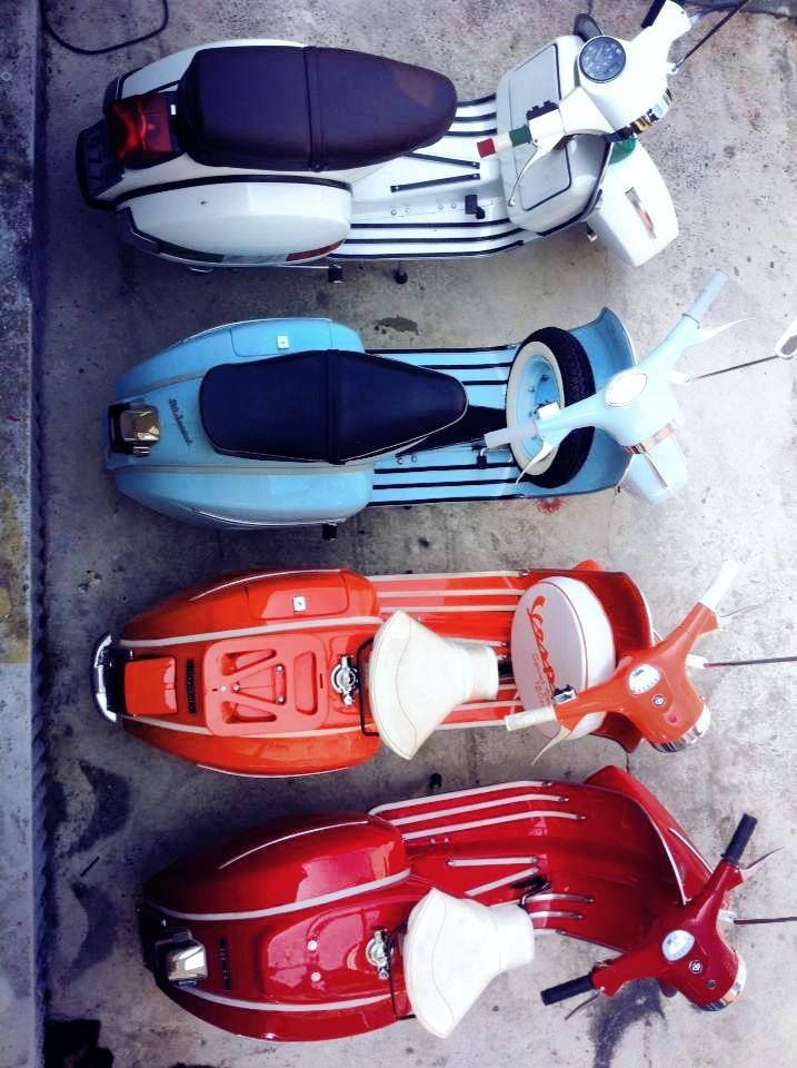 Aerial Vespa ! Perfect match for our summer collection vintage cars #vintage Instant printable vintage photos