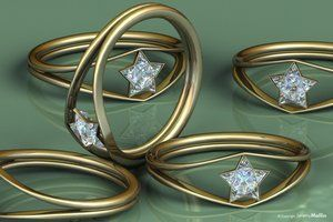 wonder woman ring -lol I want my engagement ring to look like this