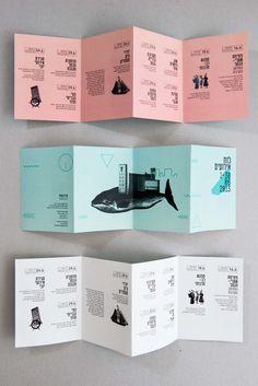 square accordion fold brochure - Google Search