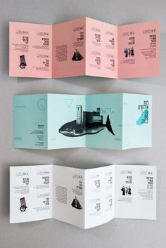 square accordion fold brochure - Google Search