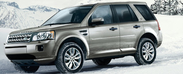 The 2012 LR2 will get you up the mountain with just a flip of a button to turn on the Snow Mode.