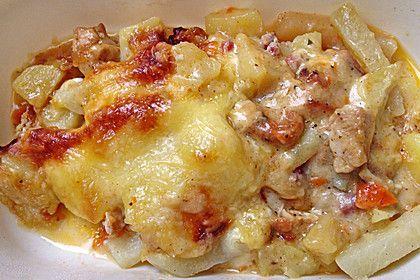 Kohlrabi - Auflauf mit Hähnchenbrust, ein tolles Rezept aus der Kategorie Gemüse. Bewertungen: 23. Durchschnitt: Ø 4,3.