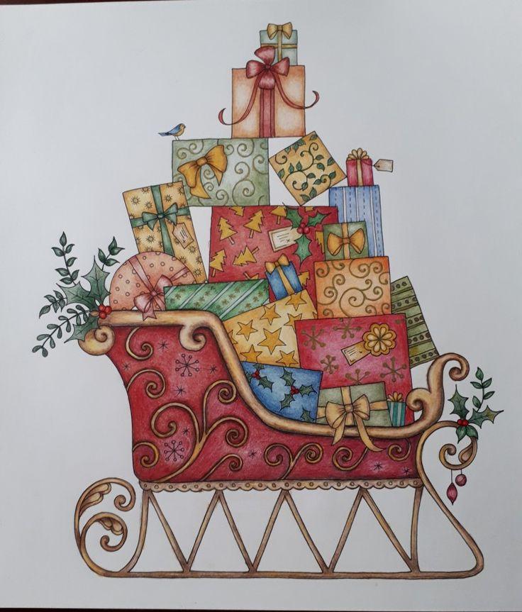 Johanna Basford- Christmas - Picture by Gyöngyi Varga.