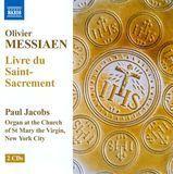Olivier Messiaen: Livre du Saint-Sacrement [CD]