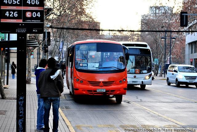 Avenida Providencia. C04 | Vital Apoquindo - Metro Manuel Montt by Transantiago Chile, via Flickr